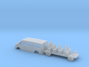 N Gauge Transit Mini Bus in Smooth Fine Detail Plastic
