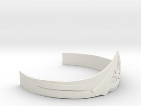Wonder Woman Tiara (JL) in White Natural Versatile Plastic