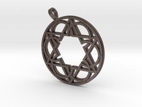 Circlestar Pendant in Stainless Steel