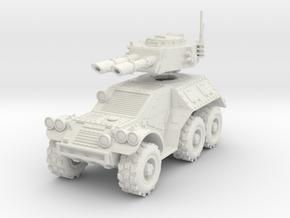 28mm 6x6 Taman Mk.B recon car   in White Strong & Flexible