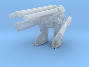 1/4000 Space Battle Robot in Smooth Fine Detail Plastic
