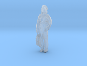 Printle C Femme 219 - 1/87 - wob in Smooth Fine Detail Plastic