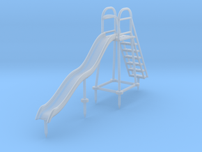 Children's Wave Slide, S Scale (1:64) in Frosted Ultra Detail