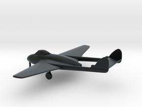 de Havilland DH.100 Vampire F.B.9 in Black Hi-Def Acrylate: 1:144