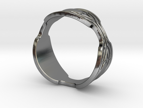 Black panther Ring replica in Polished Silver: 10 / 61.5