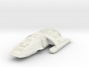 Ds9 Danube Class Runabout in White Natural Versatile Plastic