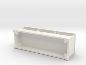 Miniature Liatorp TV Unit - IKEA in White Strong & Flexible: 1:24