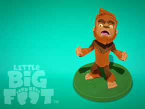 Little Bigfoot Yell Medium in Full Color Sandstone