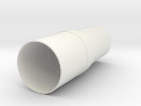 TARC Transition BT-80 to BT-70 in White Natural Versatile Plastic