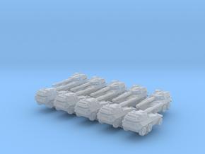 1/600 Italian EE-18 Sucuri Tank Destroyer x10 in Smoothest Fine Detail Plastic