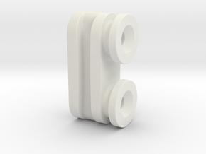 Ikea KVARTAL Slider (Male)  in White Strong & Flexible