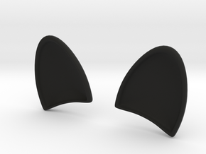 DOGs EARS for  dash board in Black Natural Versatile Plastic