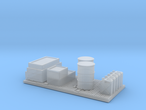 O Scale Frieght Pallet in Smooth Fine Detail Plastic