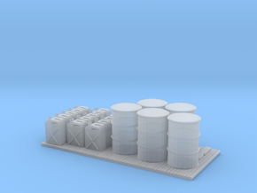 O Scale Petrol Pallet in Smooth Fine Detail Plastic