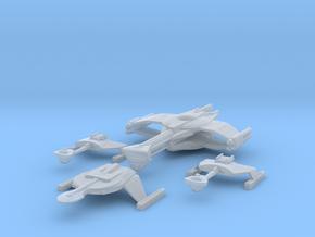 5k Romulan War Fleet in Smooth Fine Detail Plastic
