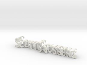 3dWordFlip: ScottGrosberg/DarkKnight in White Strong & Flexible