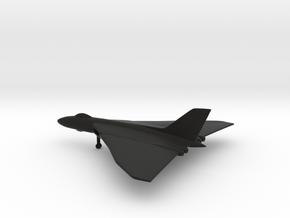 Avro Vulcan B1 in Black Natural Versatile Plastic: 1:400