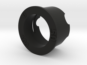 SwedishVaper PotBelly Bezel in Black Natural Versatile Plastic