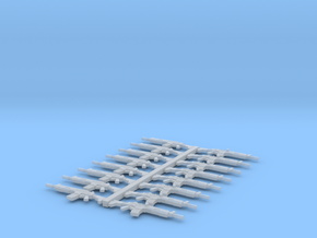 28mm Ak.5s assault rifles (16 pieces) in Smooth Fine Detail Plastic
