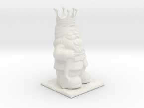 Gnome King in White Strong & Flexible
