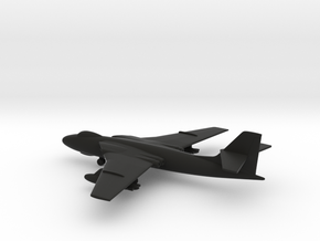 Vickers Valiant B.1 in Black Natural Versatile Plastic: 1:400