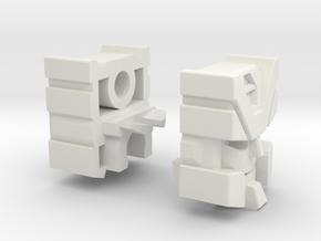 Streetjacker Head G1 Toy in White Natural Versatile Plastic