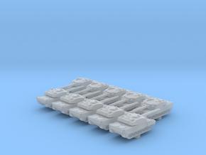1/700 British Vickers MK7 Main Battle Tank x10 in Smoothest Fine Detail Plastic