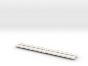 1/700 Scale Modular Causeway in White Natural Versatile Plastic