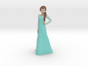 Elsa (Frozen) in Full Color Sandstone: 1:8