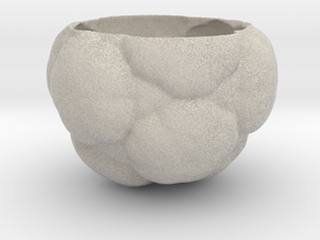 Fractal Flower Pot in Natural Sandstone