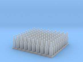 1:64 Ver2 Beer Bottles 100ea in Smooth Fine Detail Plastic