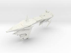 Star Wars Nebulon-K Frigate in White Strong & Flexible: Small