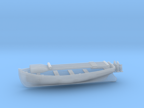1/144 DKM Boat 6m Long Set in Smooth Fine Detail Plastic