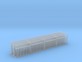 MOF Rail Sections in Smooth Fine Detail Plastic