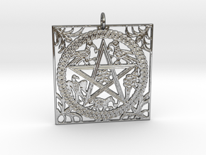 Croatian interlace pendant (+8 intelligence) in Premium Silver