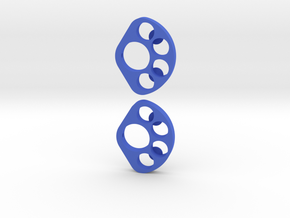 Dlux Berg Rear Tube Weight Hanger in Blue Processed Versatile Plastic