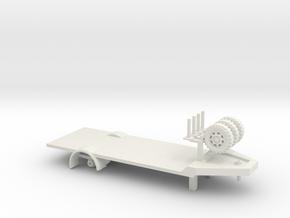 Laadtrailer 87 in White Natural Versatile Plastic