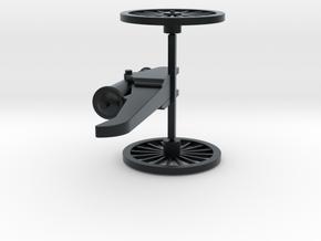 Cannon in Black Hi-Def Acrylate