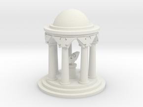 6mm Imperial Shrine in White Natural Versatile Plastic