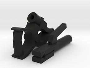 1:10 scale WELDER STINGER:CLAMP in Black Natural Versatile Plastic: 1:10