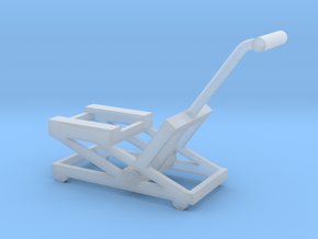 1/64 Motorcycle Lift in Smooth Fine Detail Plastic