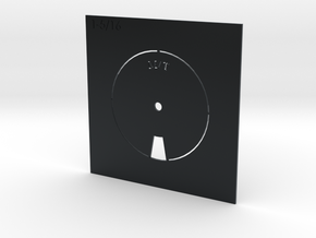 MICKEY THOMPSON TIRE STENCIL 1.3125 in Black Hi-Def Acrylate