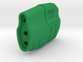 Gunder Muzzle Front End (14mm Self-Cutting) in Green Processed Versatile Plastic