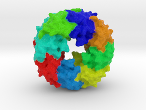 Ebola Matrix Protein (VP40) in Full Color Sandstone