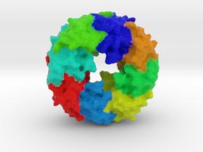Ebola Matrix Protein (VP40) in Full Color Sandstone