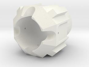 Tfu2 pommel in White Natural Versatile Plastic
