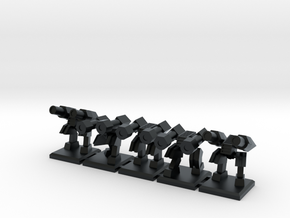 TA ARM Hammer Squad - 1cm tall in Black Hi-Def Acrylate