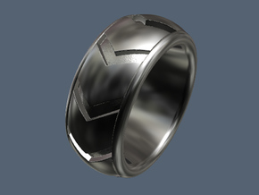 Snake Ring / Kingsnake - Size 9 1/2 (19.35 mm) in Polished Silver