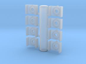 DITCH LIGHT SPRUE PYLE EMD C PLATE in Smoothest Fine Detail Plastic