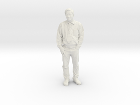 Printle C Homme 979 - 1/24 - wob in White Natural Versatile Plastic